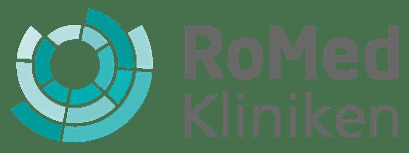 Logo RoMed Kliniken, Kliniken der Stadt und des Landkreises Rosenheim GmbH