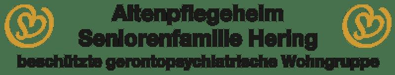 Logo Altenpflegeheim Seniorenfamilie Hering