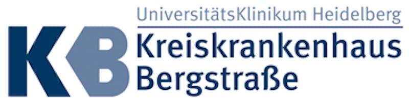 Logo Kreiskrankenhaus Bergstraße gGmbH - eine Einrichtung des Universitätsklinikums Heidelberg